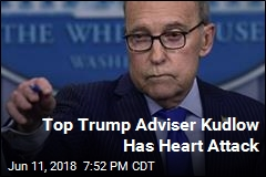 Trump Adviser Larry Kudlow Has Heart Attack