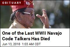 WWII Navajo Code Talker Samuel Holiday Dead at 94