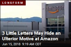 3 Little Letters May Hide an Ulterior Motive at Amazon