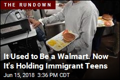 It Used to Be a Walmart. Now It's Holding Immigrant Teens