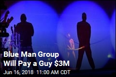 Blue Man Group Settles Royalty Dispute for $3M