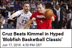 Ted Cruz Beats Jimmy Kimmel in Charity Basketball Game