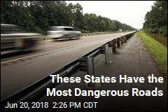 These States Have the Most Dangerous Roads