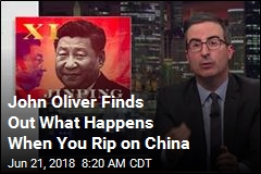 John Oliver Talks Censorship in China, Gets Censored in China