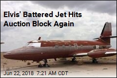 Elvis' Battered Jet Hits Auction Block Again