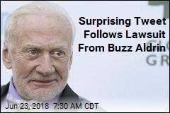 Surprising Tweet, Then a Lawsuit From Buzz Aldrin