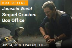 Jurassic Sequel Stomps Its Way to $150M Bow