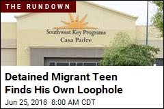 Detained Migrant Teen Finds His Own Loophole