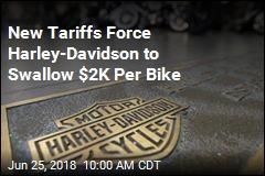New Tariffs Force Harley-Davidson to Swallow $2K Per Bike