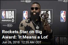 James Harden Wins NBA MVP