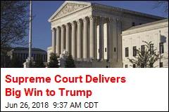 Supreme Court Backs Trump's Travel Ban