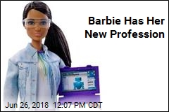 Barbie Has Her New Profession
