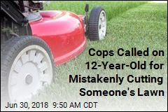 Cops Called on 12-Year-Old for Mistakenly Cutting Someone's Lawn
