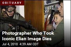 Photographer Behind Elian Image Dies at 71