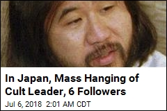 Japan Executes Doomsday Cult Leader, 6 Followers