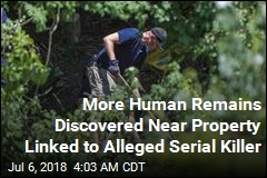 More Human Remains Found Near Home Used by Alleged Serial Killer