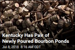 Kentucky Has Pair of Newly Poured Bourbon Ponds