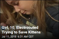 Girl, 10, Electrocuted Trying to Save Kittens