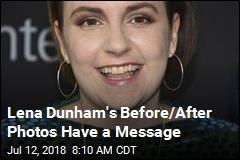 Lena Dunham 'Joyous' After Putting on 24lbs.