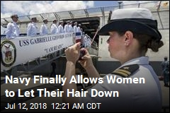 Navy Says Women Can Now Have Ponytails