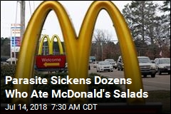 Tainted McDonald's Salad Sicken Dozens in 6 States