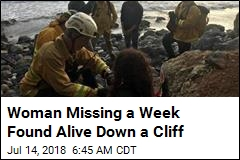 Missing Oregon Woman Found Alive After Plunging Off Cliff