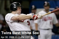 Twins Best White Sox