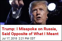 Trump: I Accept Conclusion About Russian 'Meddling'