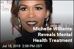 Michelle Williams Reveals Mental Health Treatment