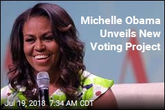 Michelle Obama Unveils New Voting Project