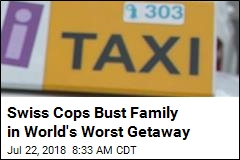 Swiss Cops Bust Family in World's Worst Getaway