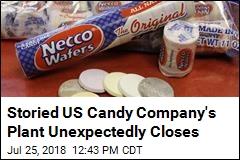 Necco Candy Plant's Savior Reverses Course