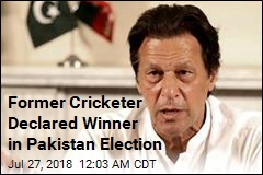 Former Cricketer Declared Winner in Pakistan Election