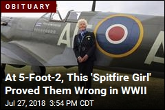 WWII 'Spitfire Girl' Pilot Is Dead at 101