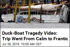 Feds Review On-Board Video of Duck Boat Tragedy