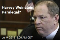 Harvey Weinstein, Paralegal?