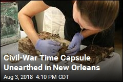 Civil-War Time Capsule Unearthed in New Orleans