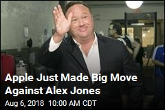 Alex Jones Gets Bad News From Apple, Facebook
