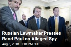 Rand Paul Visits Moscow, Invites Lawmakers to DC