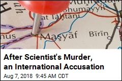 After Scientist's Murder, an International Accusation