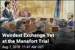 Weirdest Exchange Yet at the Manafort Trial