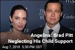 Angelina Jolie Claims Brad Pitt Has Paid No Child Support