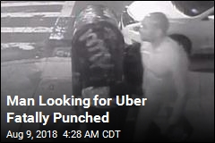 Man Looking for Uber Fatally Punched