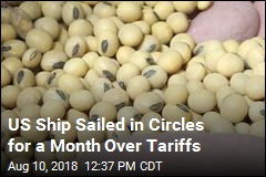US Ship Sailed in Circles for a Month Over Tariffs