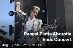 'Security Issue' Spurs Abrupt End to Rascal Flatts Show