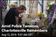 Amid Police Tensions, Charlottesville Remembers