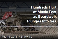 Hundreds Hurt at Music Fest as Boardwalk Plunges Into Sea