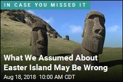 What We Assumed About Easter Island May Be Wrong