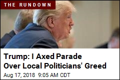 Trump on Axed Parade: 'Now We Can Buy More Jet Fighters!'