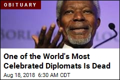 One of the World's Most Celebrated Diplomats Is Dead